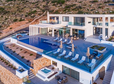 Agios Nikolaos, Volimes - Aurora Luxury Villa Photo 11