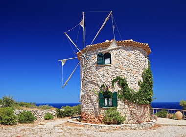 Skinari, Volimes, Zante, Zakynthos - Windmills Photo 1